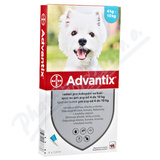 Advantix pro psy od 4-10kg spot-on a. u. v. 1x1ml