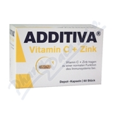 Additiva vitamin C + zinek tbl. 60