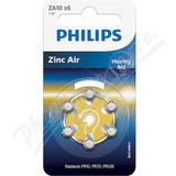Baterie do naslouchadel PHILIPS ZA10B6A-00 6ks