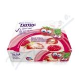 Fortini Creamy Fruit Multi Fibre červ. ovoce 4x100g