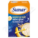 Sunar mléčná banánová kaše na dobrou noc 225g