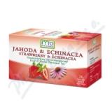 Ovocno-bylinný čaj Jahoda +Echin.  20x2g Fytopharma