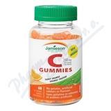 JAMIESON Vitamín C Gummies pomeranč pastilky 60ks