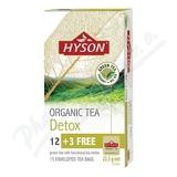 HYSON organický čaj DETOX 15x1.5mg