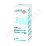 No. 9 Natrium phosphoricum DHU D6 80 tablet