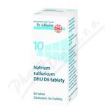 No. 10 Natrium sulfuricum DHU D6 80 tablet