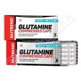 NUTREND Glutamine compressed cps. 120