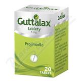 Guttalax 5mg tbl. nob. 20