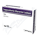 Suppositoria Glycerini Léčiva 1. 81g sup. 10