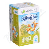 Megafyt Bylinný čaj fenykl pro děti 20x1.5g