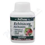 MedPharma Echinacea 600 Forte+kurkumin tbl.67