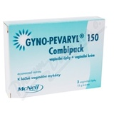 Gyno-Pevaryl Combipack150mg+10mg crm+vag. glb. 3+15g
