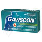 Gaviscon žvýkací tablety tbl.mnd.48
