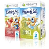 Megafyt Dětský čaj les. jahoda 20x2g+Fenykl 20x1. 5g
