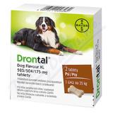 Drontal Dog Flavour XL 525-504-175mg psy tbl. 2