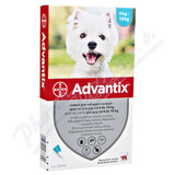 Advantix pro psy 4-10kg spot-on a. u. v. 4x1ml