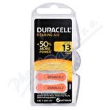 Baterie do naslouch. Duracell DA13 Easy Tab 6ks