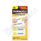 Baterie do naslouch. Duracell DA10 Easy Tab 6ks