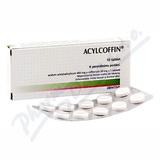 Acylcoffin por. tbl. nob. 10