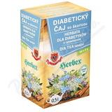 HERBEX Diabetický čaj se skořicí 20x3g nálev.sáčky