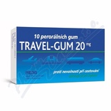Travel-Gum 20 por. gum. 10x20mg