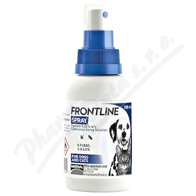 FRONTLINE SPRAY 2.5 mg-ml kožní sprej roztok 100ml