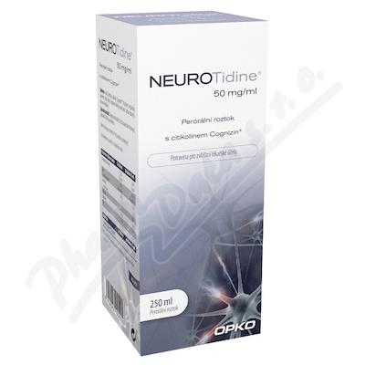 Neurotidine 50 mg-ml 250 ml